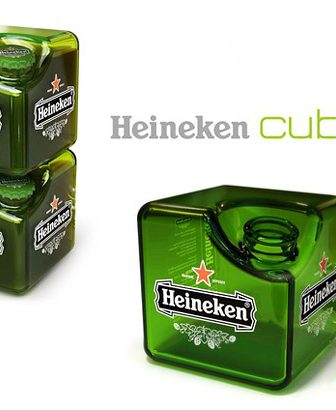 Cubic Heineken Bottle, un packaging rivoluzionario