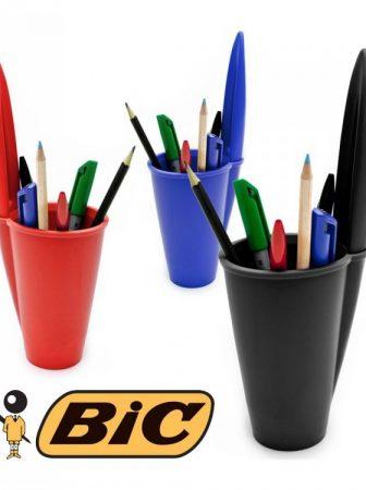Portapenne BIC, tradizione e modernità sulla scrivania