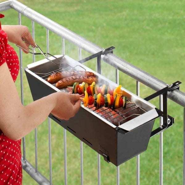 Bruce Grill barbecue da balcone