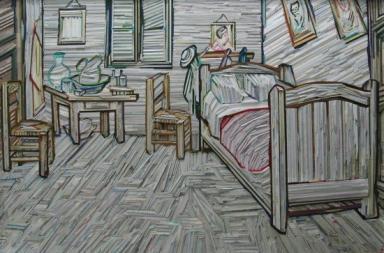 I dipinti mosaico di Lee Kyu-Hak
