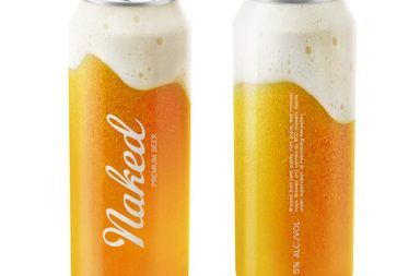 Naked Beer, il packaging che non c'è!