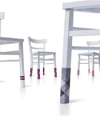 Personality Socks, i calzini per le sedie di Chris & Ruby