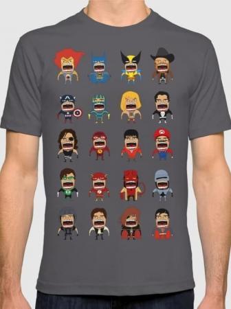 T-shirt divertenti per supereroi di tutti i giorni