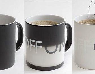 On Off, la tazza termosensibile che cambia colore