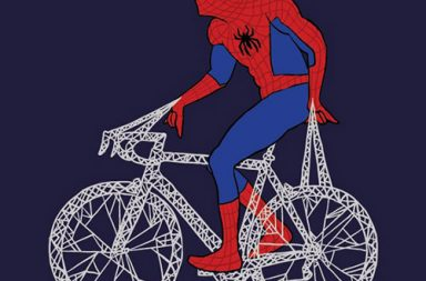 Funny Superhero Bikes