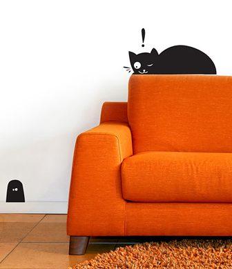 Cats! Cats! Cats!: i wall stickers dei gatti