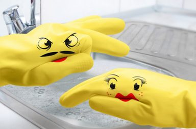 Puppet Washgloves: i guanti divertenti