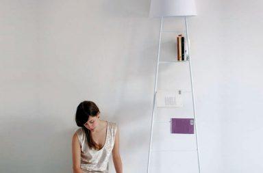 Sleepy lamp, lampada libreria
