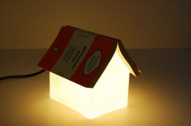 Bookrest Lamp, la lampada segnalibro