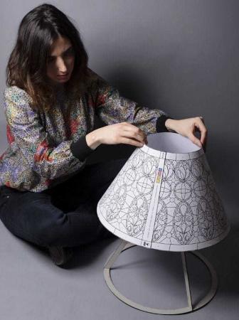 La lampada Tiffany reinterpretata da Bernardita Marambio
