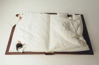 Book Bed, un letto a forma di libro per bambini