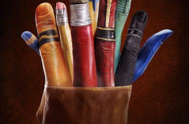 Ray Massey: mani dipinte