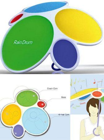 Rain Drum: l'ombrello batteria