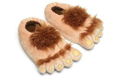 Pantofole Hobbit, Plush Halfling Slippers