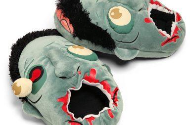 Plush Zombie Slippers, le pantofole per zombie