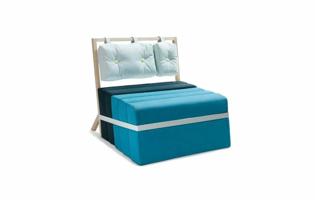Pause la poltrona letto design miss - Poltrona che diventa letto ...