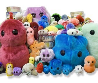 Peluche Giant Microbes