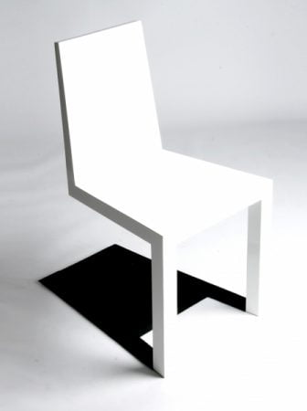 Shadow Chair, la sedia illusione