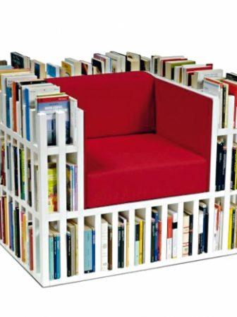 Bibliochaise, la poltrona libreria