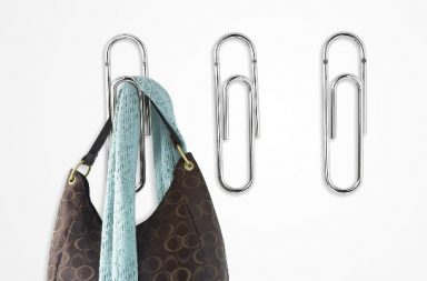 Giant Paperclip Wall Hook