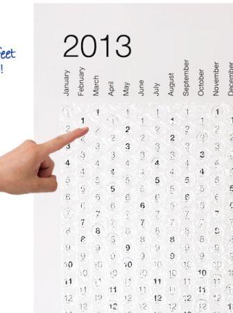 Bubble Calendar 2013