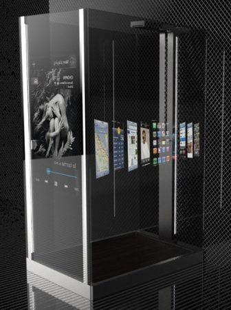 Smart Media Shower