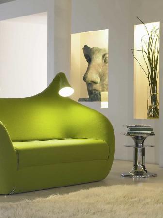Morfeo, il divano letto con luci