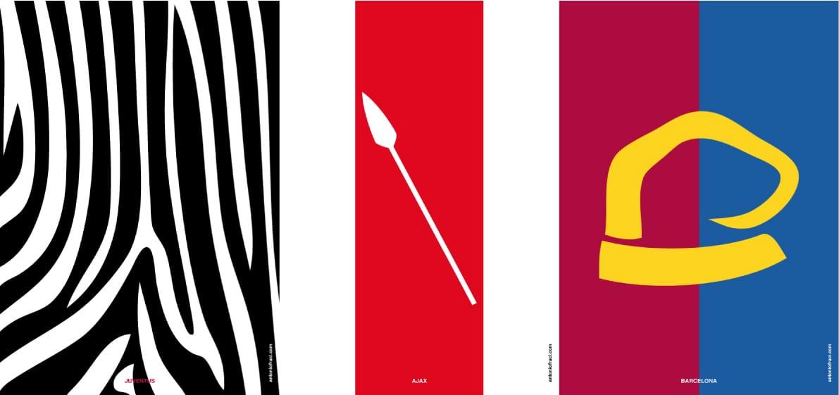 Ott Lamp Minimalist Posters of Football Clubs - Design Miss