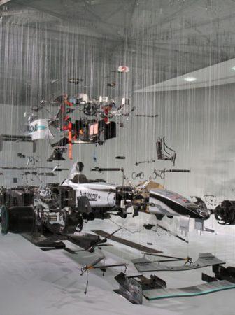 View Suspended II: Mercedes Benz F1 Display