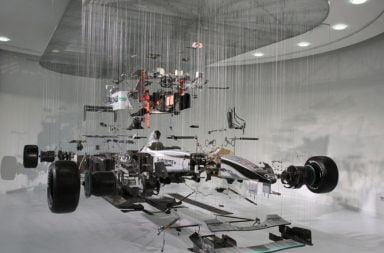 View Suspended II: Mercedes Benz F1 Display