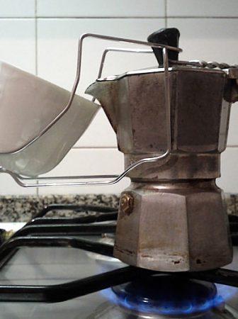 Caffettiera Moka modificata