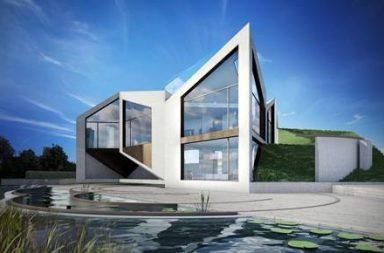 D*Haus, la casa origami