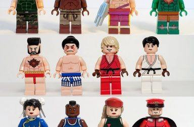 Lego Street Fighter Minifigs