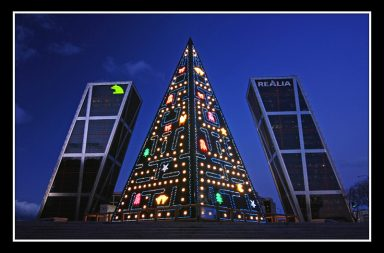Pac Man Albero di Natale
