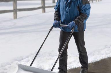 Manplow Snow Pusher