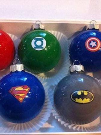 Palle di Natale per Supereroi