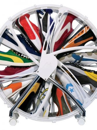 Shoe Wheel Organizer