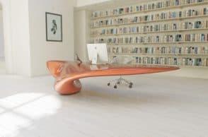 Volna Floor Mounted Table