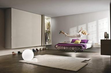 Fluttua Floating Bed di Daniele Lago