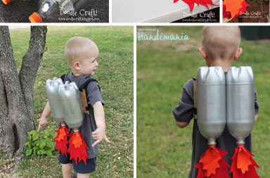 DIY upcycled Rocket jet pack!