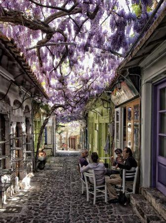 Molyvos, Lesvos, Grecia
