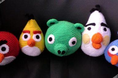 Peluche Angry Birds di Estrella y Panda