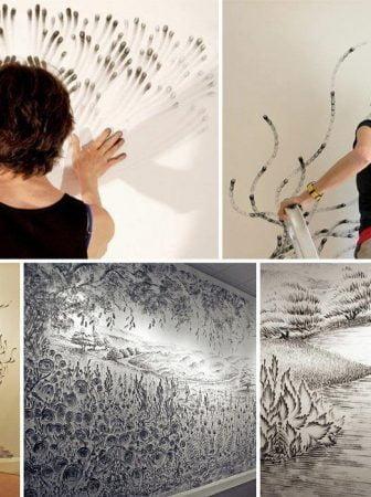 Finger Drawings Art di Judith Braun