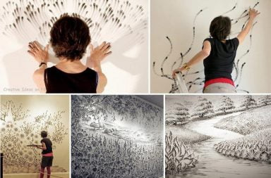 Finger Drawings Art di Judith Braun