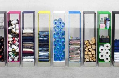 Manhattan Cabinet, ordinatori per ogni stanza della casa