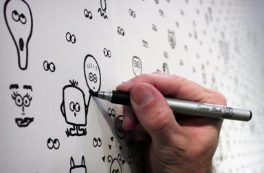 I See You: Interactive Wallpaper