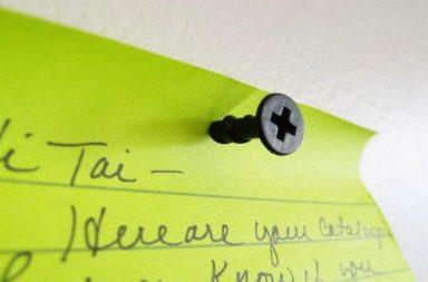 Kikkerland Screw Push Pins