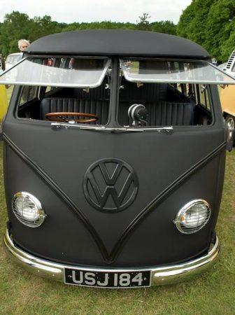 Matte Black Volkswagen T1