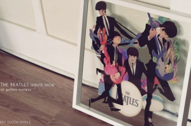 The Beatles and Perry Dixon Maple
