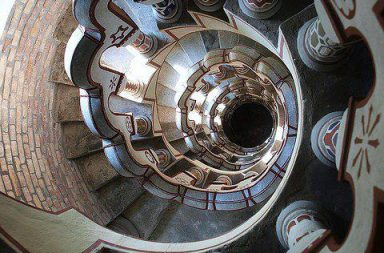 Bory Castle: Spiral Stairway
